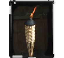 Candle in the wind iPad Case/Skin