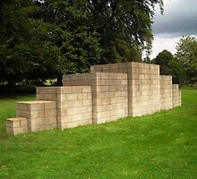 The Breeze Blocks at The Yorkshire Sculpture Park by CostaRicaLads