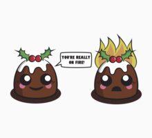 Fire Pudding Kids Tee