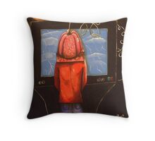 Jello Head Throw Pillow