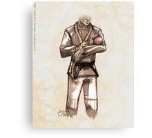 TYJJ - Thank You Jiu-Jitsu IMAGE - PINK Canvas Print