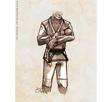TYJJ - Thank You Jiu-Jitsu IMAGE - PINK Photographic Print