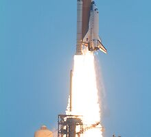 Atlantis Launching on STS-135 from the Kennedy Space Center by Botts85