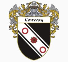 Conway Coat of Arms/Family Crest by William Martin