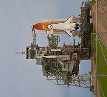Space Shuttle Atlantis Ready for STS-135 Launch by Botts85
