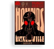 Vintage Poster - The Hounds of Baskerville Canvas Print