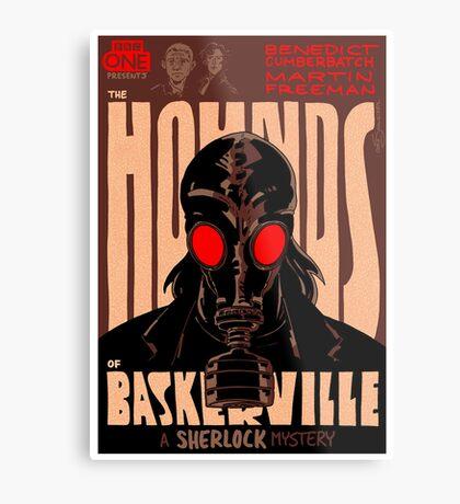 Vintage Poster - The Hounds of Baskerville Metal Print