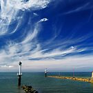 Between Sea and Sky  by cclaude