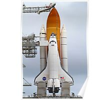 Atlantis Ready for STS-135 Launch Poster