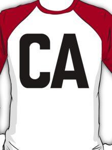 California CA Black Ink T-Shirt