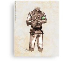 TYJJ - Thank You Jiu-Jitsu IMAGE - GREEN Canvas Print