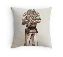 TYJJ - Thank You Jiu-Jitsu IMAGE - GREEN Throw Pillow