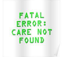 Fatal Error Poster
