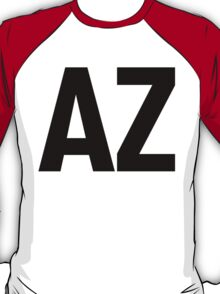 Arizona AZ Black Ink T-Shirt