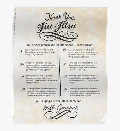 The TYJJ Manifesto (Thank You Jiu-Jitsu) SON Poster