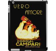Cordial Campari iPad Case/Skin