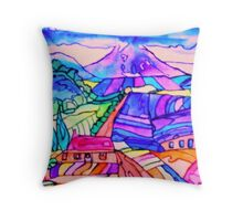 Sugarloaf, Wicklow, Ireland Throw Pillow