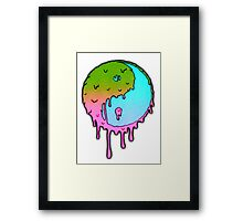 Psychedelic Yin-Yang Framed Print