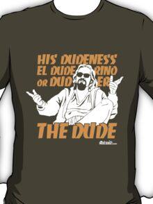 The Dude (Big Lebowski) T-Shirt