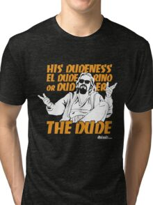 The Dude (Big Lebowski) Tri-blend T-Shirt