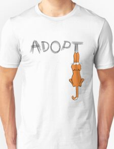 Adopt Cats Dark Claw Marks | Patch & Rusty™ Unisex T-Shirt