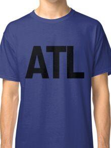 ATL Atlanta Black Ink Classic T-Shirt