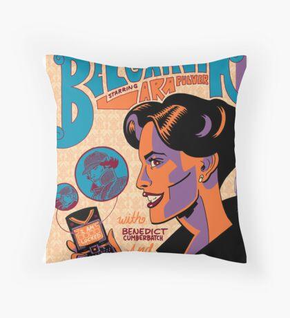 VintagePoster - A Scandal in Belgravia Throw Pillow