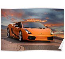 2008 Lamborghini Gallardo Superleggera II Poster