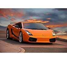 2008 Lamborghini Gallardo Superleggera II Photographic Print