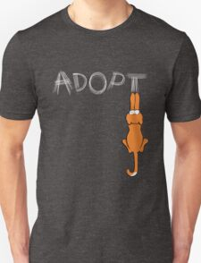 Adopt Cats Light Claw Marks | Patch & Rusty™ T-Shirt