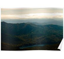 Black Mountains and Swannanoa River Poster