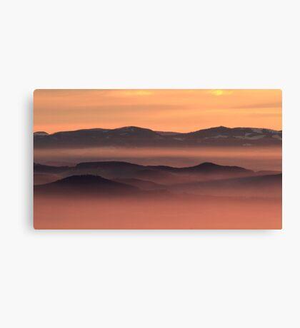 Wonderful Sunset Canvas Print