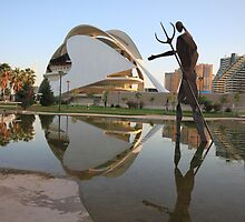 Sculpture in Valencia by Emma Bennett