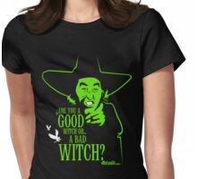 Wicked Witch Of The West Womens Fitted T-Shirt