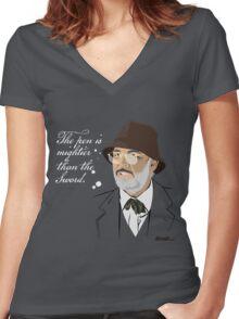 Henry Jones Women's Fitted V-Neck T-Shirt