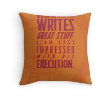 Nerdism 2 - Joss Whedon Throw Pillow