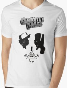 gravity falls portrait   Mens V-Neck T-Shirt