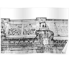 Rome's Architecture Poster
