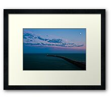 Newhaven Lighthouse Framed Print