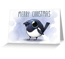 Merry Magpie Christmas  Greeting Card