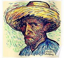 Vincent Portrait Poster