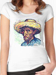 Vincent Portrait Women's Fitted Scoop T-Shirt