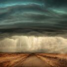 Super Cell Storm by Cliff Vestergaard
