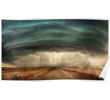 Super Cell Storm Poster