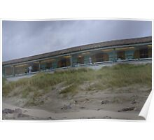 Health Spa Lands in the Dunes at Le Touquet Poster