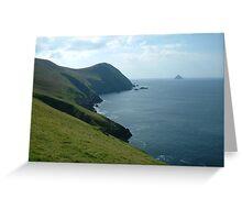 Atlantic Ocean, Blasket Islands, Ireland Greeting Card