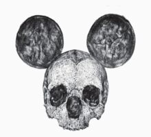 Skull Mouse by Tiffany Garvey