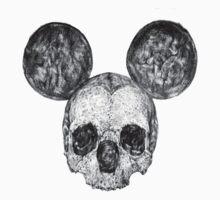 Skull Mouse by Tiffany Garvey