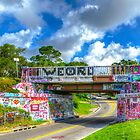 Graffiti Bridge - A Pensacola Landmark by Greg Riegler