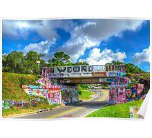 Graffiti Bridge - A Pensacola Landmark Poster